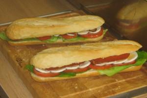Broodzakken voor broodjes van broodjeszaken