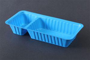Blauwe A-snackbakjes