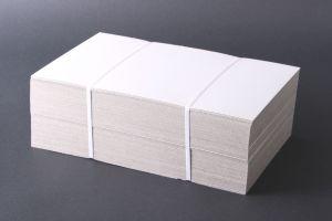 Kartonnen prijskaartjes