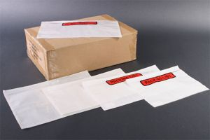 Paklijst enveloppen