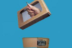 Verzendverpakking voor breekbare artikelen
